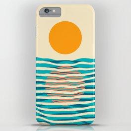 Ocean current iPhone Case