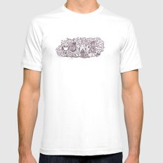 You R a Hoot! Mens Fitted Tee White MEDIUM