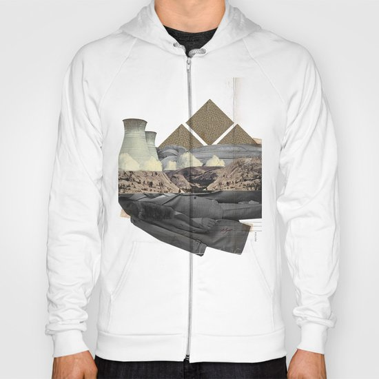 The future a time to reminisce. (mixed media) Hoody