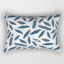 Feathers of the Guinea Hen Rectangular Pillow