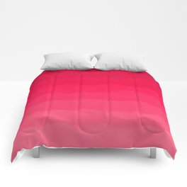 Perfectly Pink Ombre Comforters