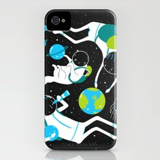 A Day Out In Space - Black Slim Case iPhone (4, 4s)
