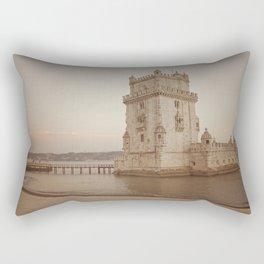 Torre de Belém Rectangular Pillow