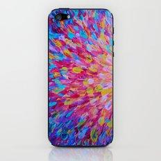 SPLASH, Revisited - Bold Beautiful Feminine Romance Ocean Beach Waves Magenta Plum Turquoise Crimson iPhone & iPod Skin