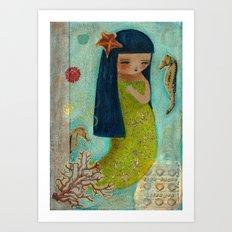 A Little Mermaid Art Print