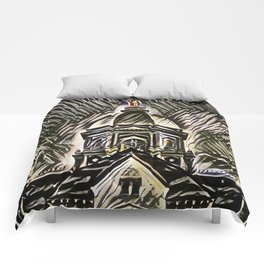 The Golden Dome Comforters