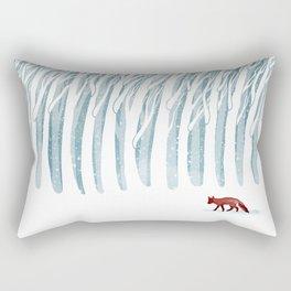 Winter Storm Rectangular Pillow