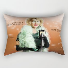 iN THE LAND OF gODS AND mONSTERS Rectangular Pillow