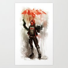 REDhood Art Print