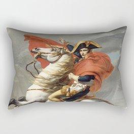 Bonaparte - The Emperor Napoleon - Jacques Louis David Rectangular Pillow