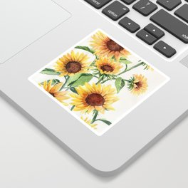 Sunflowers Sticker