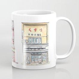 Japanese Storefronts Coffee Mug