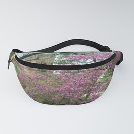 Bell Tower in Spring Fanny Pack