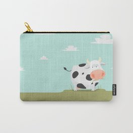 Happy fat cow Carry-All Pouch