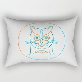 The Owl and The Pussycat Rectangular Pillow