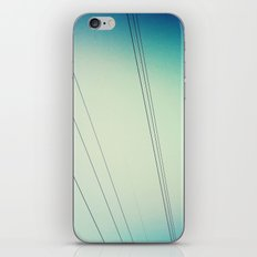 Power lines.  iPhone & iPod Skin