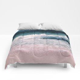 Crash into me (Samana Island Dominican Republic) Comforters