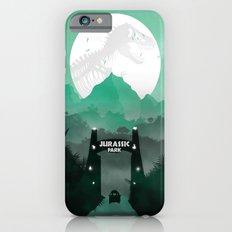 Jurassic Park Inspired Minimalist Print  iPhone 6s Slim Case