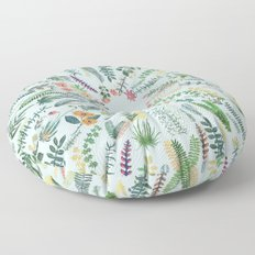 central garden blue Floor Pillow