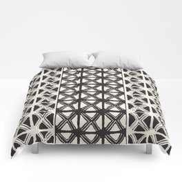 B&W Tribal #society6 #tribal Comforters