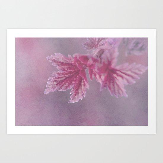 Spring Frost Art Print