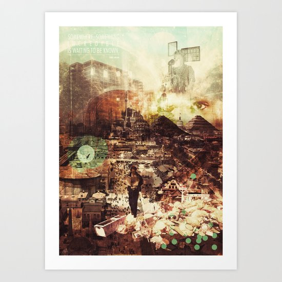 Dotto (Learned) Art Print