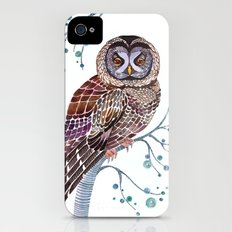 lacy owl iPhone (4, 4s) Slim Case