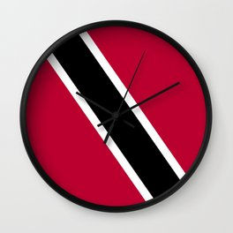 Trinidad and Tobago flag emblem Wall Clock