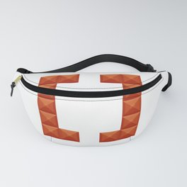 Square brackets sign print in beautiful design Fashion Modern Style Fanny Pack