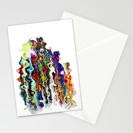 lost people found reborn Stationery Cards