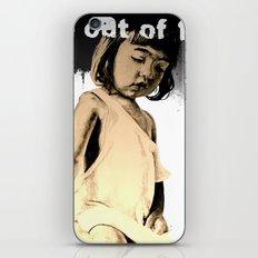KIDS prefer crayons - black version iPhone & iPod Skin