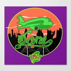 Planes & Jane's Canvas Print