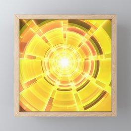 Golden Scope Framed Mini Art Print