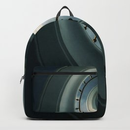 Pretty blue staircase Backpack