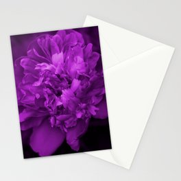 Peony In Ultra Violet Color #decor #society6 #buyart Stationery Cards