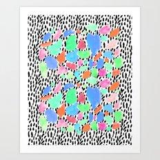 Pastel Blast Art Print