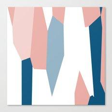 Peachy blue 2 Canvas Print