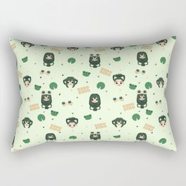 Best Frog Girl Rectangular Pillow
