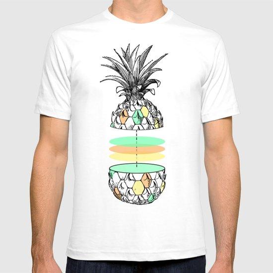 Sliced pineapple T-shirt