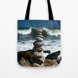 Parting the Waves Tote Bag