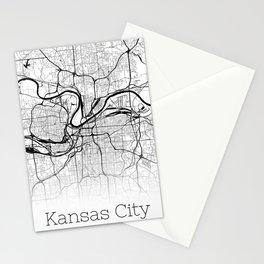 City Map Neck Gaiter Kansas City Missouri Neck Gator Stationery Cards