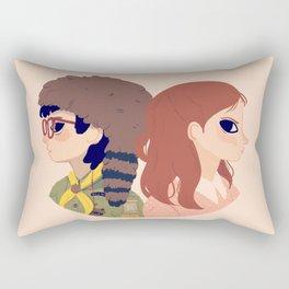 Sam and Suzy Rectangular Pillow