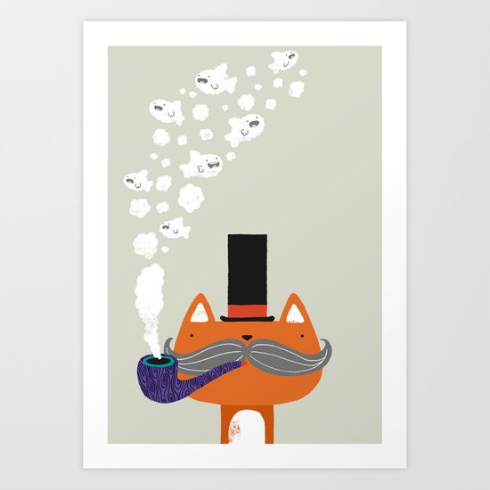 Smoked kippers Art Print