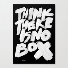 NOBOX Canvas Print