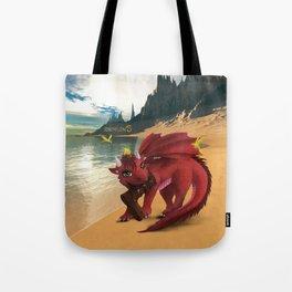 Dragonlings of Valdier: Amber Tote Bag