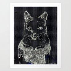 ofelia la gata Art Print
