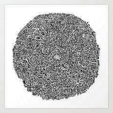 Inner Workings Art Print
