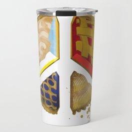 Pie of peace Travel Mug