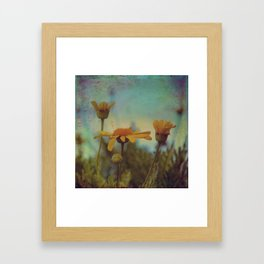 The beauty of simple things Framed Art Print