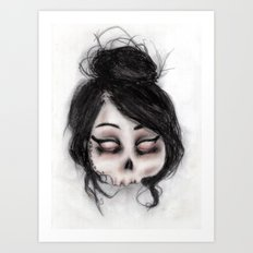 The inability to perceive with eyes notebook II Art Print